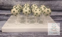Polka Dot Cakepops
