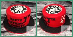 Toronto Raptors cake