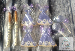 Sofia the First gowns
