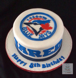Toronto Blue Jays cake