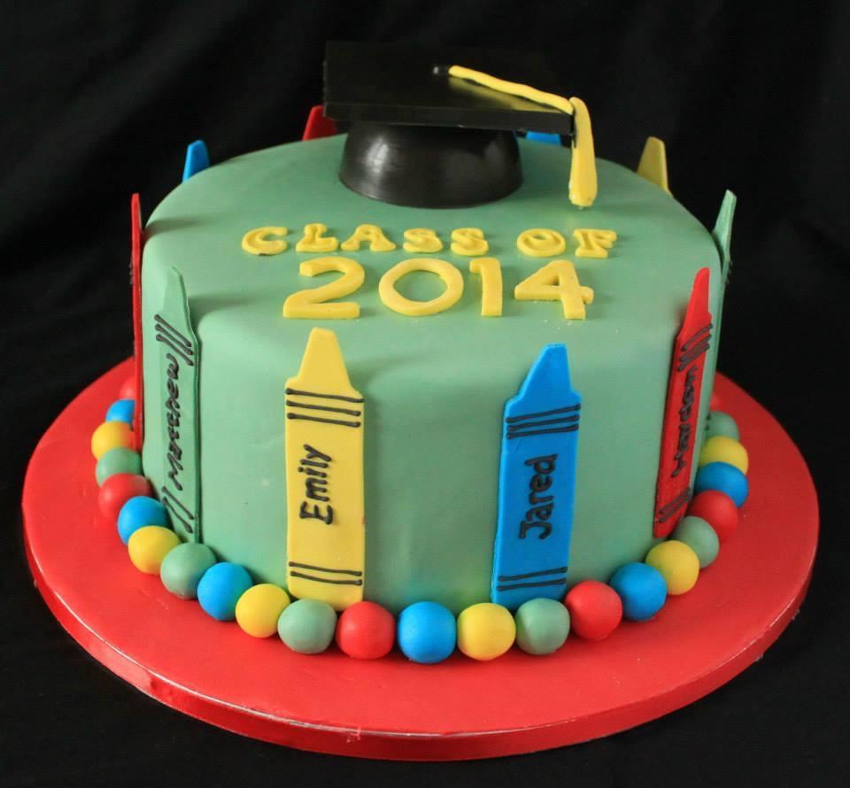 SK Graduation cake