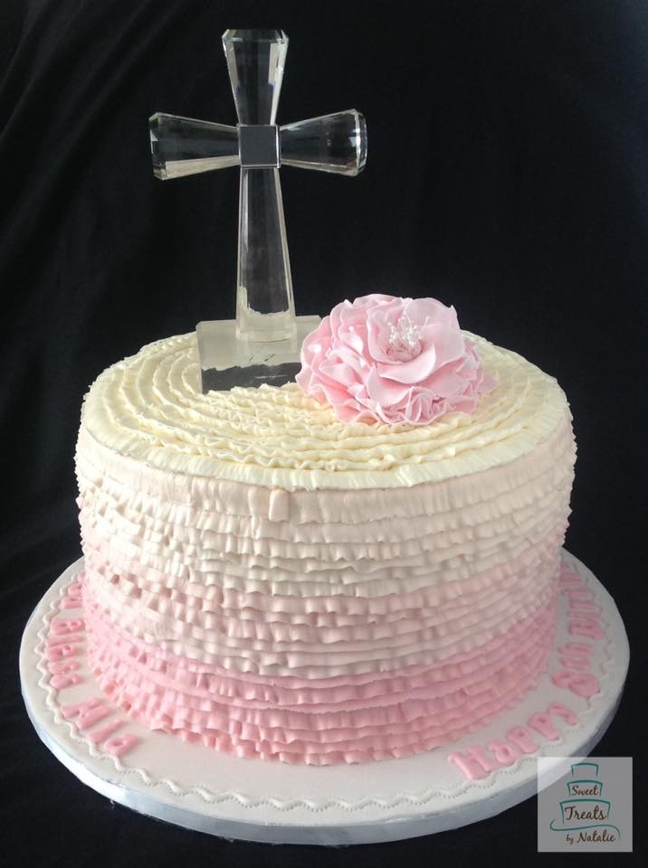 Pink buttercream ombre