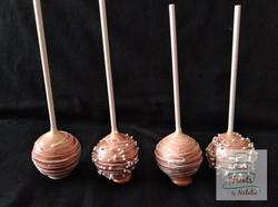 Rose Gold Cakepops