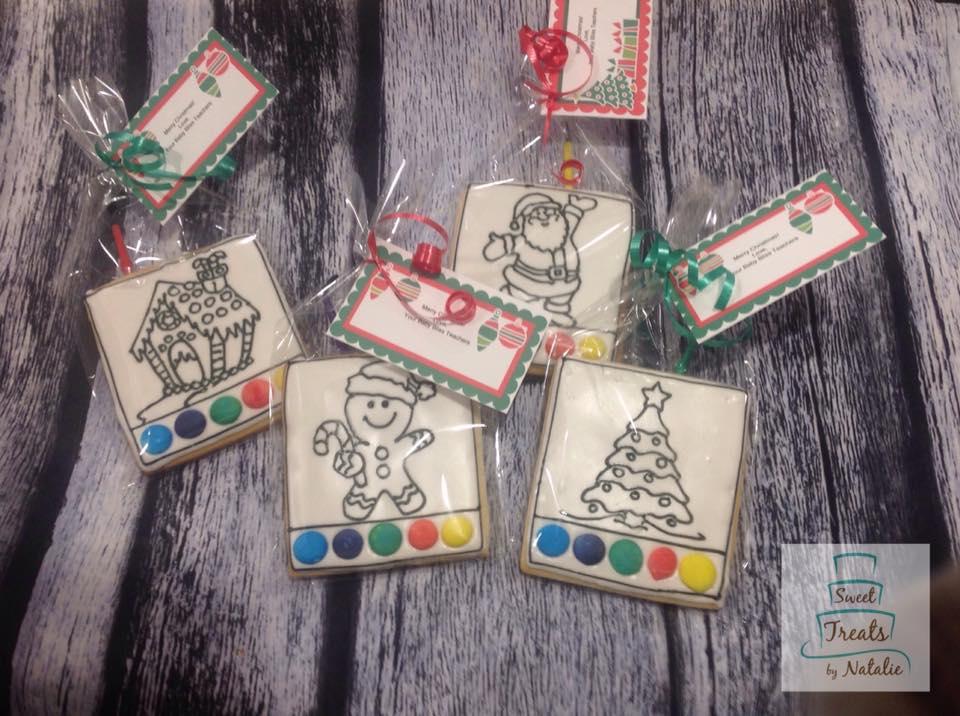 Christmas 2019 PYO cookies