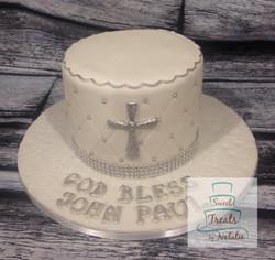 Small baptism cake