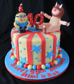 Minion & Wild thing birthday