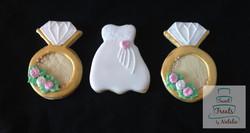 Bridal shower cookies