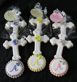 Flower crosses & monograms