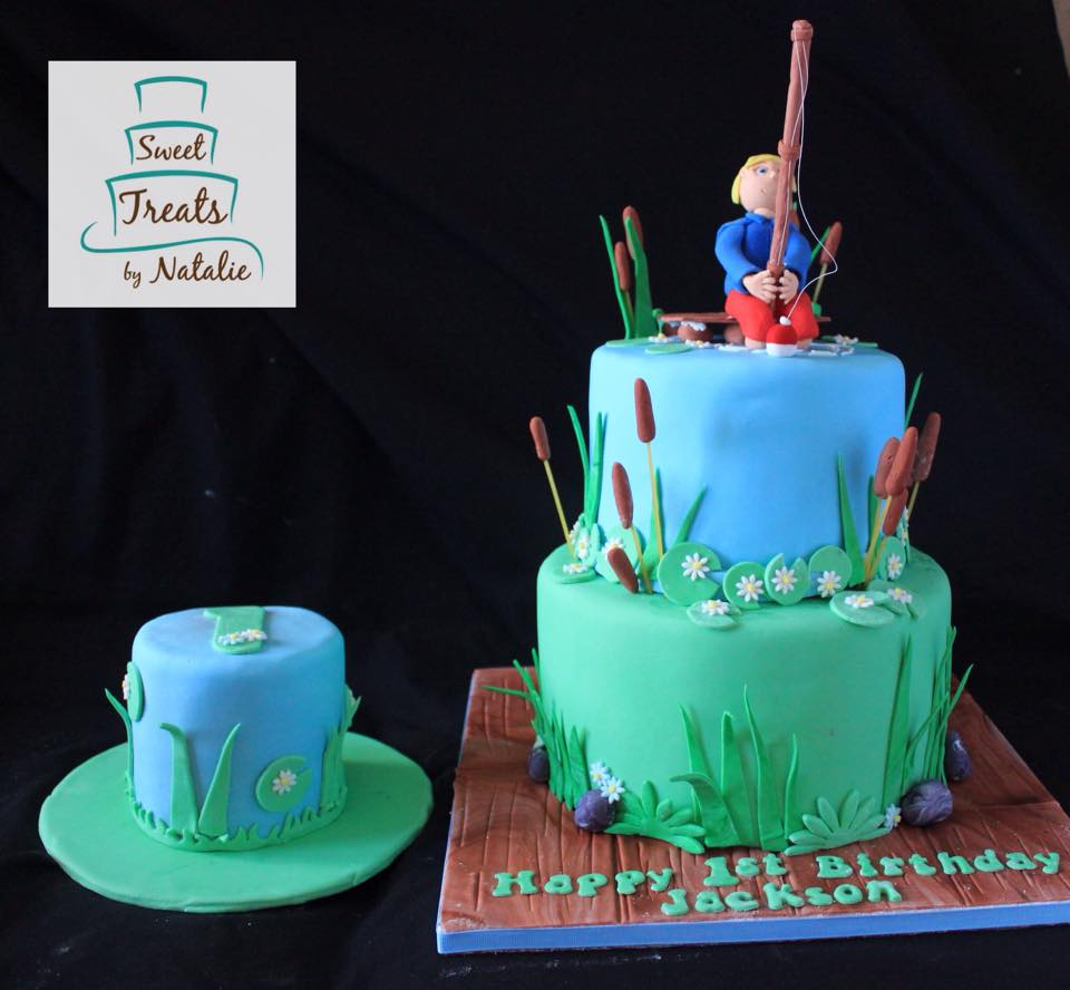 Fishing 1st birthday