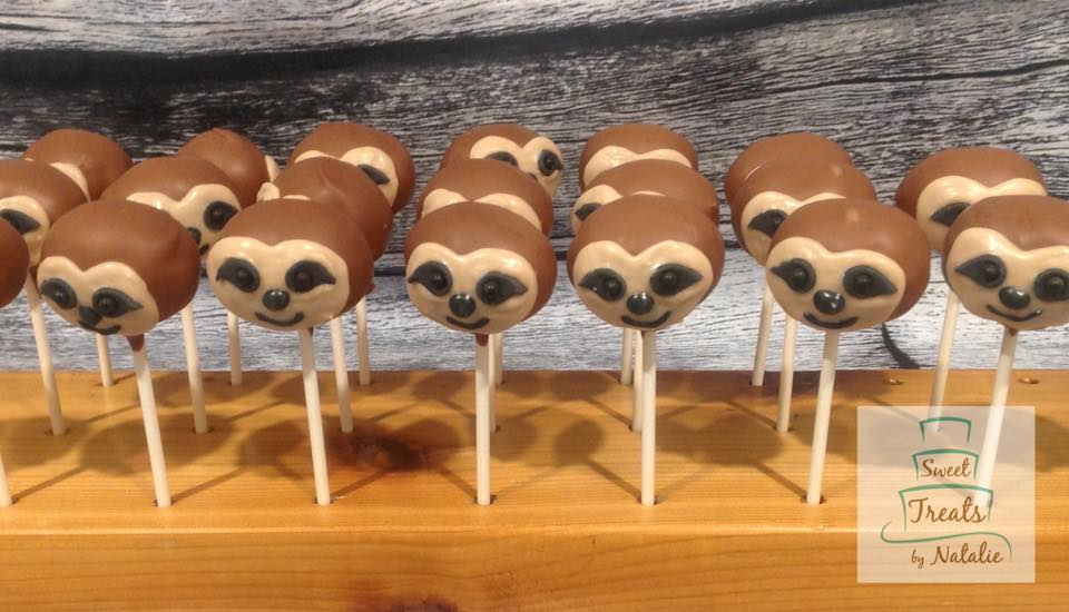 Sloth Cakepops