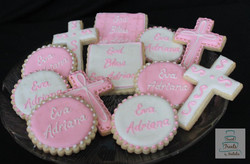 Pink & white personalized