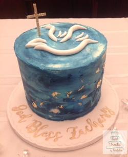 Buttercream Confirmatoin cake