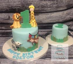 Jungle themed birthday