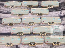Airstream trailor cookies