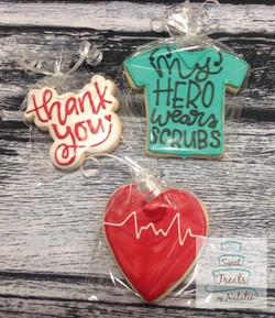 Health care worker cookies