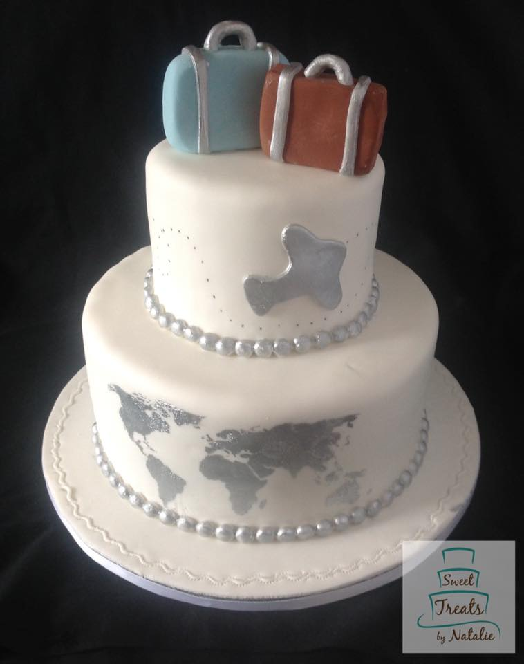 Travel themed bridal shower