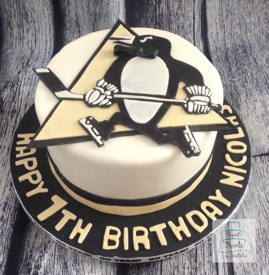 Pittsburgh Penguins birthday cake