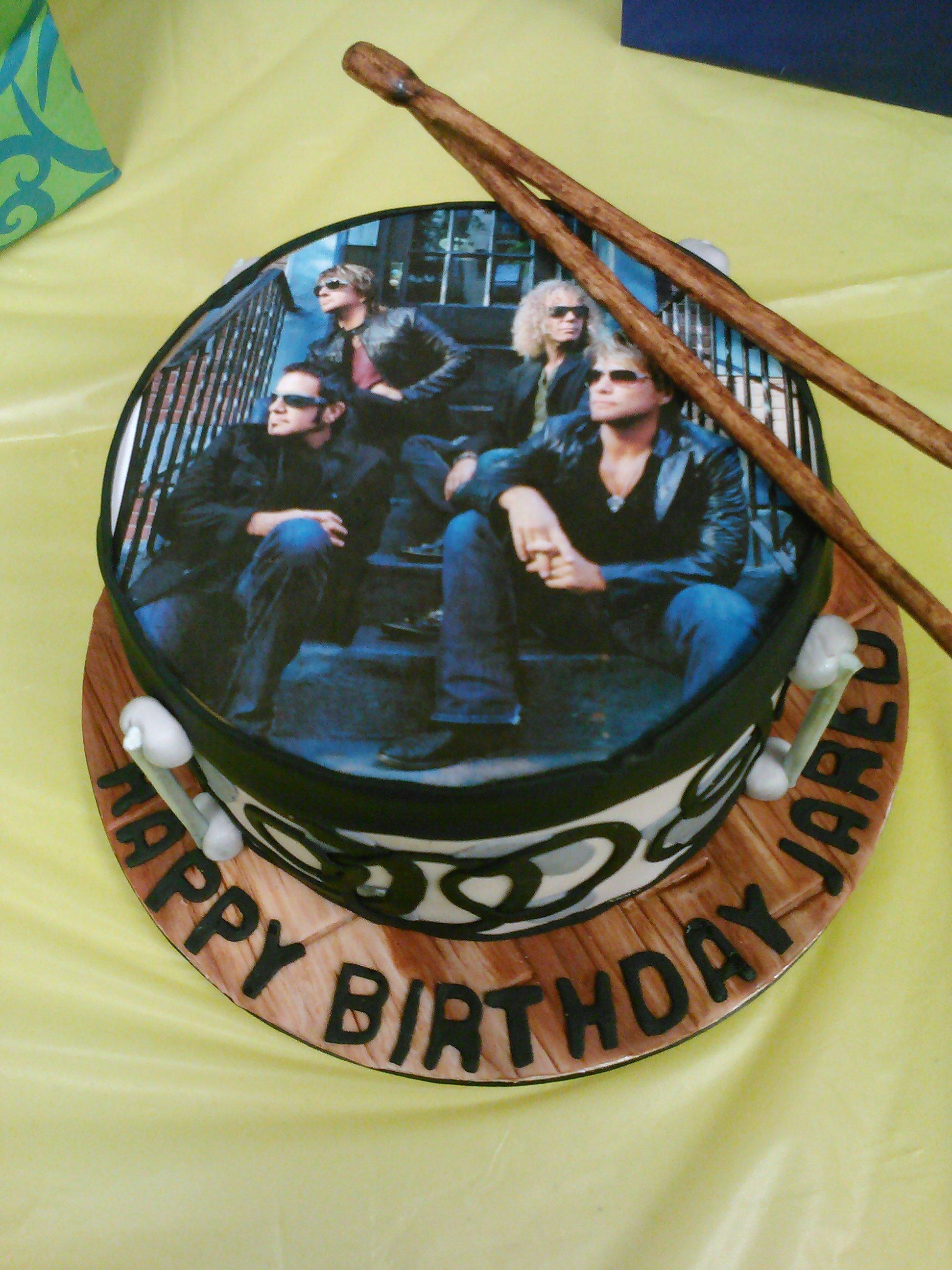 Bon Jovi drum