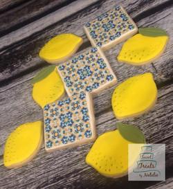 Sicilian lemons & tile cookies