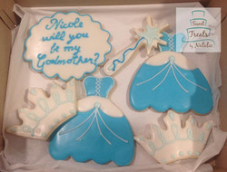 New Godmother Cookie Set
