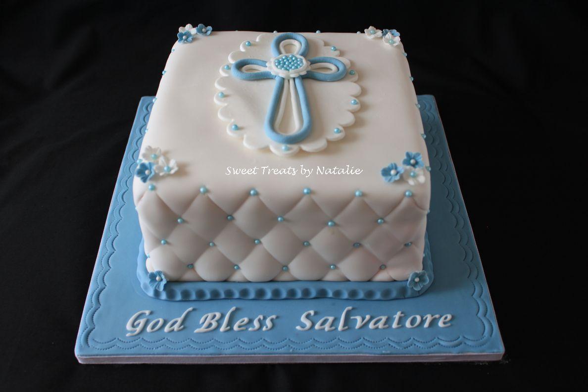 Blue baptism