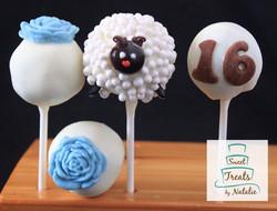 Sweet 16 cake pops