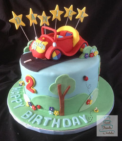 Wiggles themed cake
