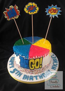 Teen Titans cake