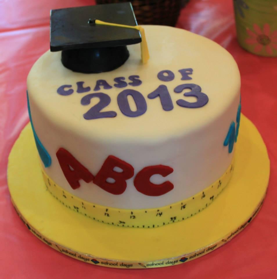 JK Graduation cake