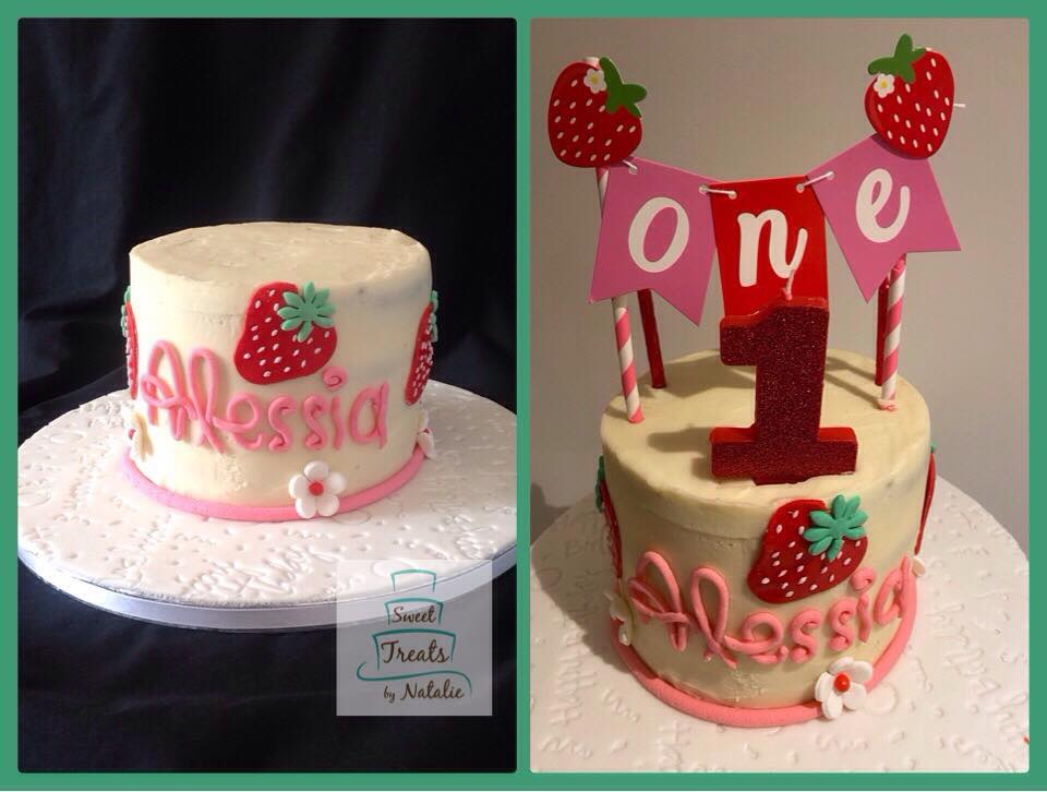 Strawberry First Birthday