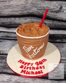 Tim Hortons Iced Capp cake