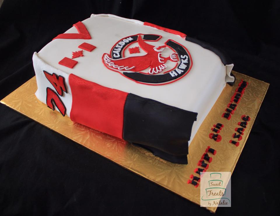 Caledon Hawks cake
