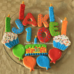 Birthday cookies for Jake