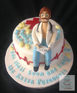 Sexy doctor cake