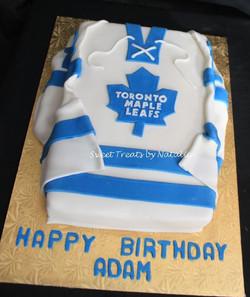 Maple Leafs hockey jersey