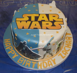 Star Wars edible images