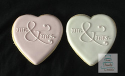 Mr. & Mrs. hearts