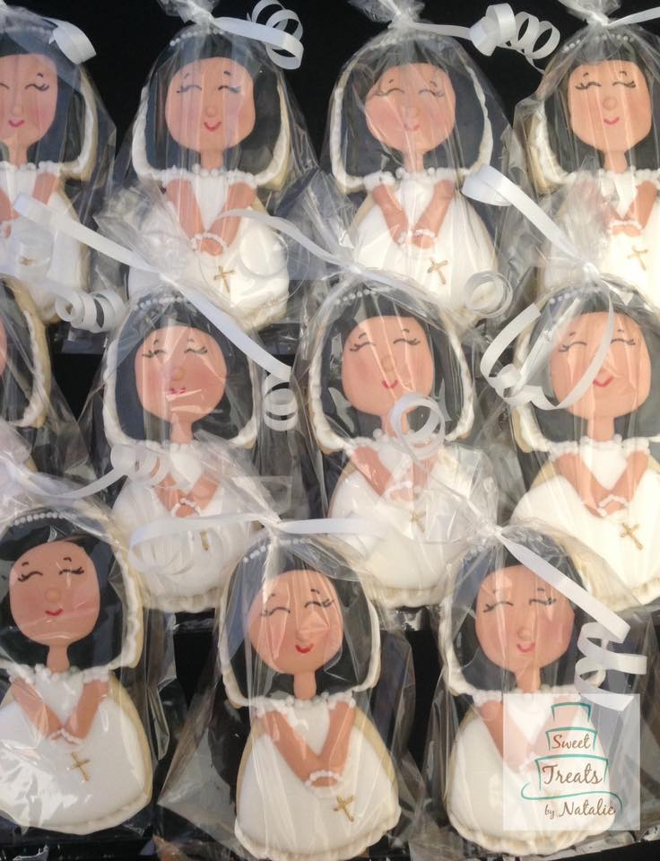 First Communion girl2 cookie