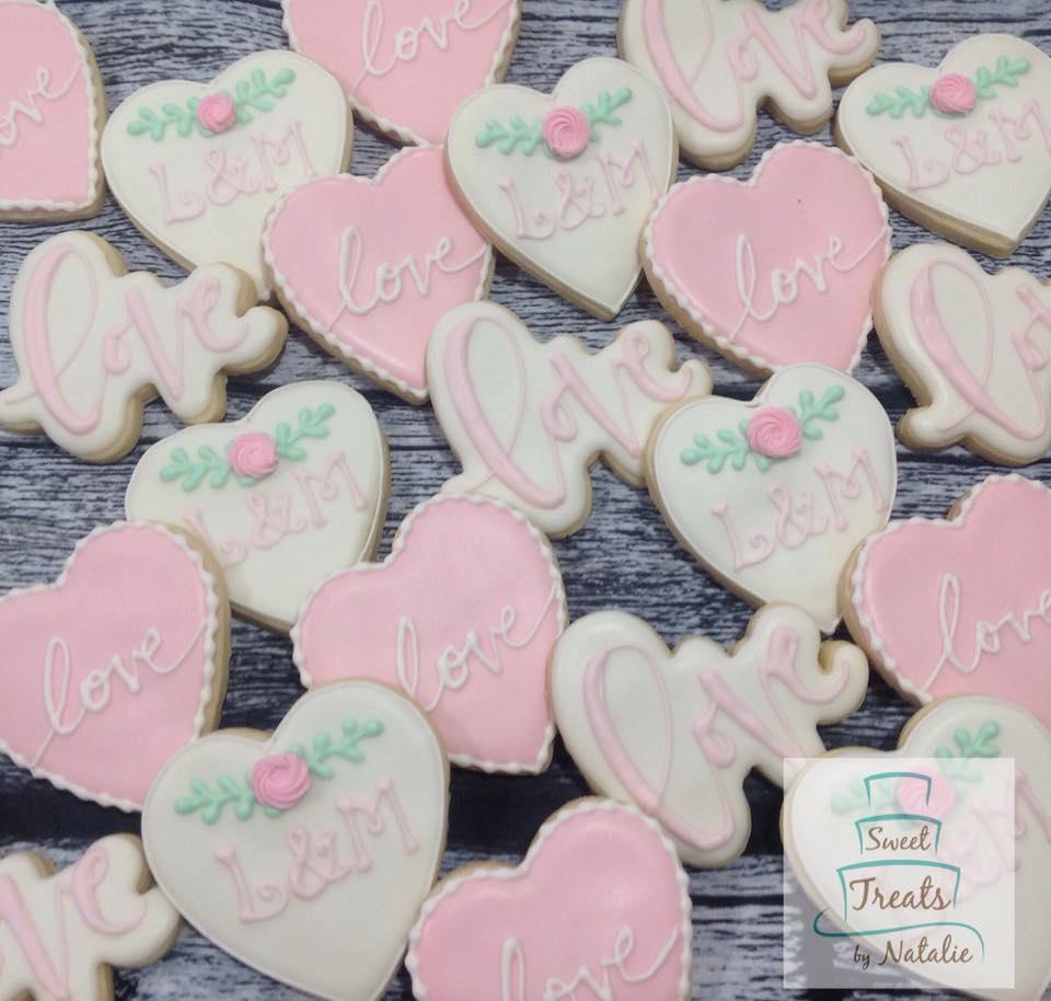 Wedding Love Cookies
