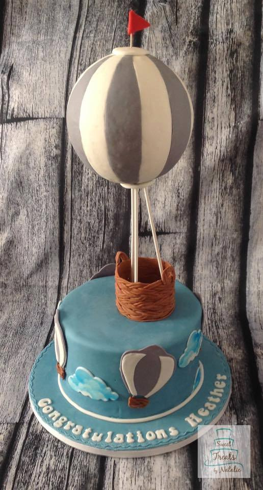 3D Hot Air Balloon cake
