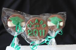 Graduation lollipops
