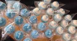 Baptism Cross Cakepops