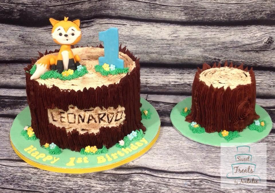 Woodland Fox First Birthday