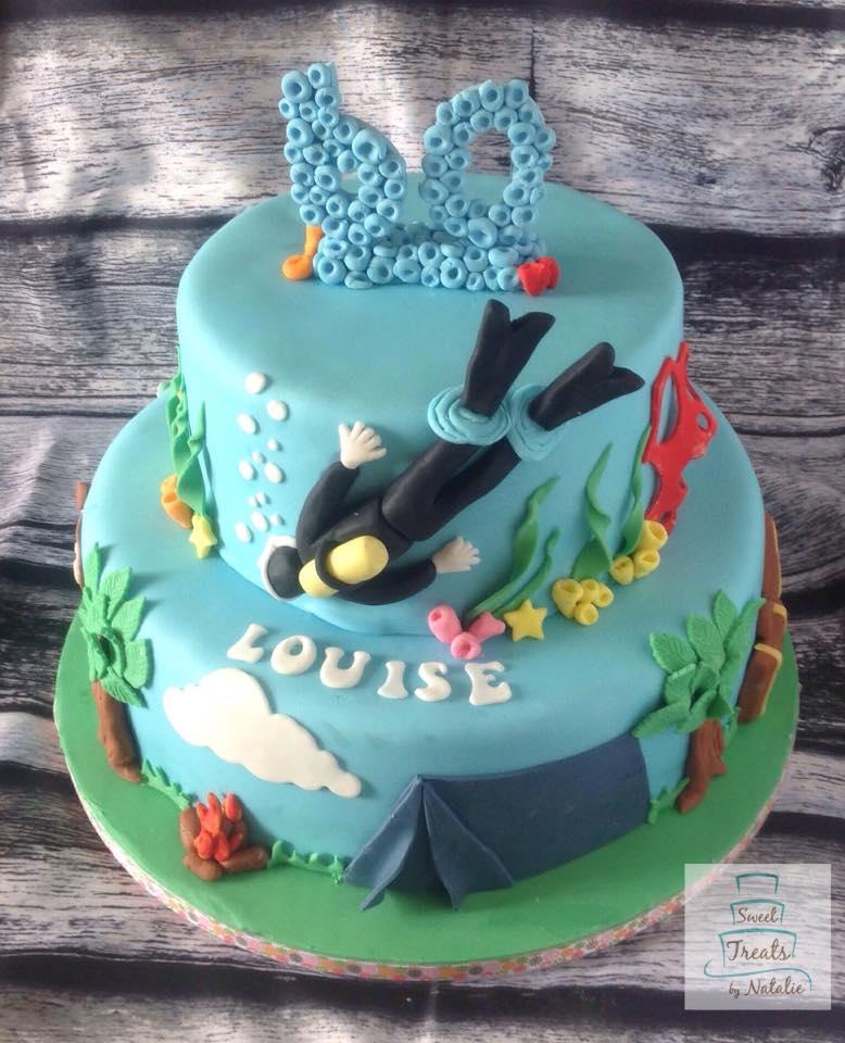 Diver/outdoors theme birthday