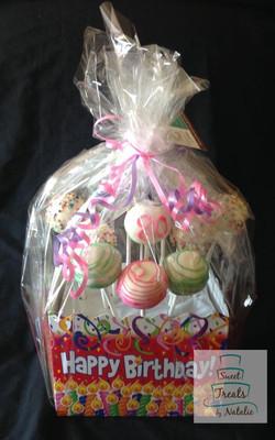 Birthday Cakepop Bouquet