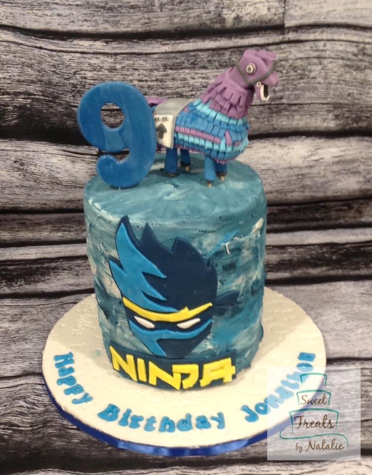 Fortnite Ninja cake