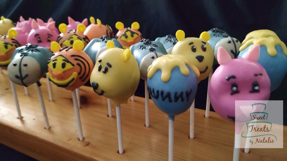 Winnie the Pooh Cakepops