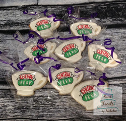 Friends Central Perk cup cookies