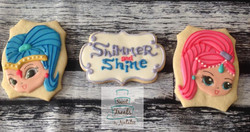 Shimmer & Shine cookies