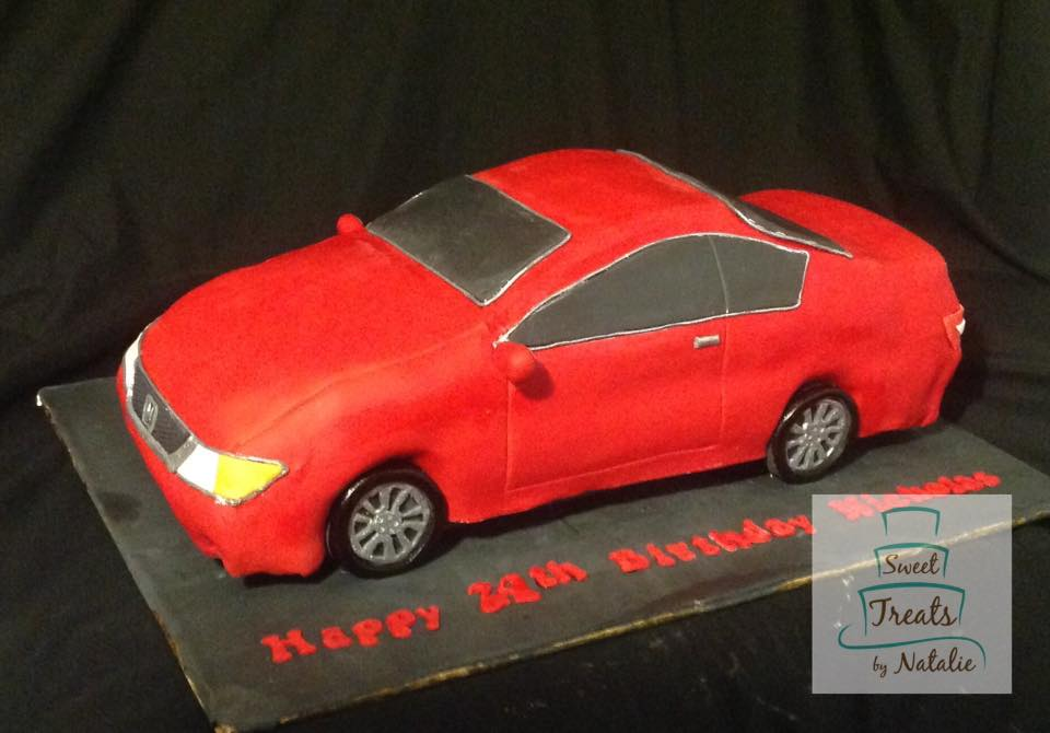 Honda Accord 3D cake